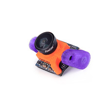 Fixed Mount TPU Purple & Black For Runcam Swift Foxeer 1177 Arrow Micro FPV Camera 3-5 Inch RC FPV Racing Mini Cam Drone Parts