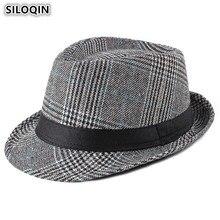SILOQIN New Elegant Womens Fedoras Hats 2019 Spring Fashion Vintage Simple British Mens Jazz Hat Trends Gentry Couple Cap