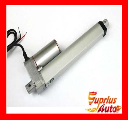 Waterproof New 12V 375mm 15 inch Travel 1000N 100KG 225LBS Load 10mm / s Electric Mini Linear ActuatorWaterproof New 12V 375mm 15 inch Travel 1000N 100KG 225LBS Load 10mm / s Electric Mini Linear Actuator