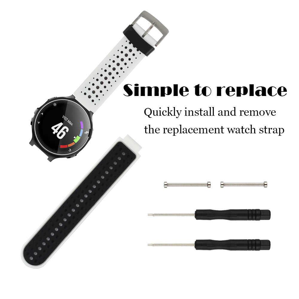 Honecumi Sport Smart Watch Band for Garmin Forerunner  235/230/620/630/735XT/235Lite Silicone Strap Watchband Bracelet Accessory
