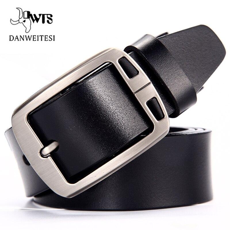 [DWTS] Kuh leder gürtel männer männlich echtem leder strap gürtel für männer schnalle phantasie vintage jeans cintos masculinos ceinture homme