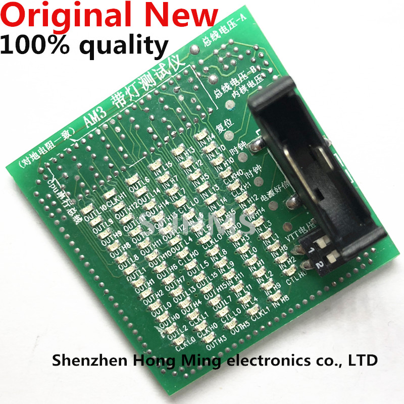 Desktop CPU AM3 Socket Tester CPU Socket Analyzer Dummy Load Fake Load with LED