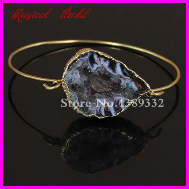 Druzy Bracelet Natural...