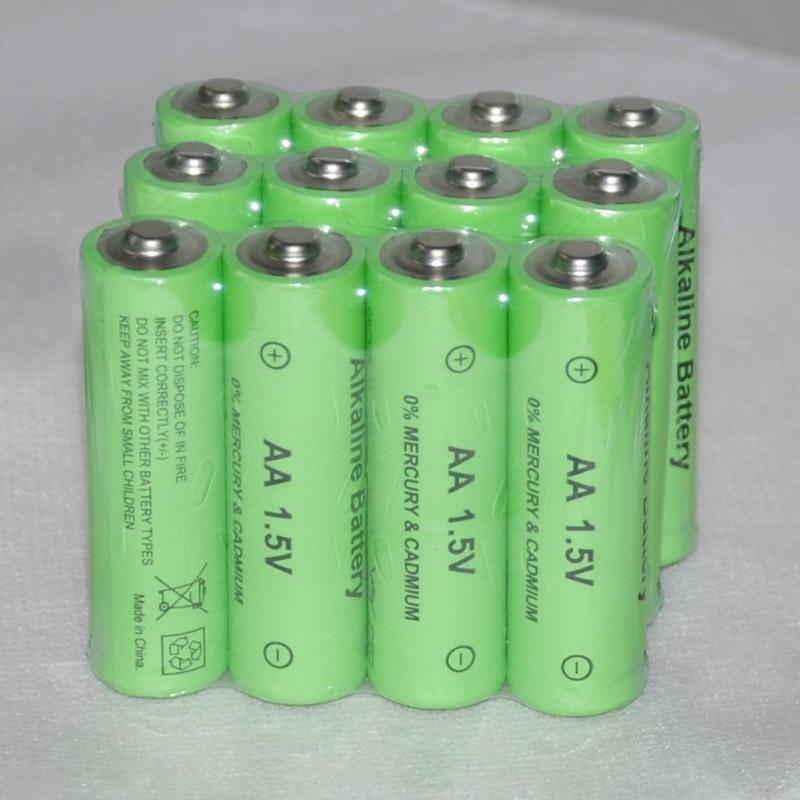 12-20pcs UNITEK 1.5v AA rechargeable battery 14500 cell 3000mah alkaline for led flashlight toys clock camera remote control
