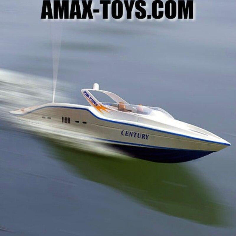 Double 7004 74 cm 2.4G 3CH grand bateau télécommandé hors-bord RC jouets électriques double moteur moteur radio contrôle bateau