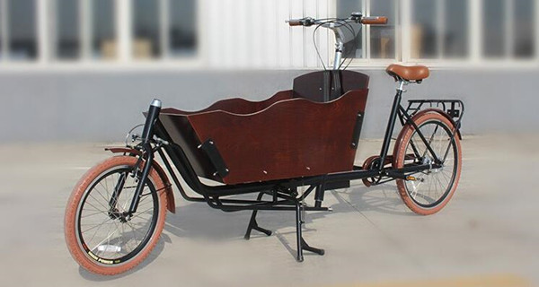 CE Approved 250W Cheap Electric Tricycle Cargo Bike Electric With Pedals For European Market