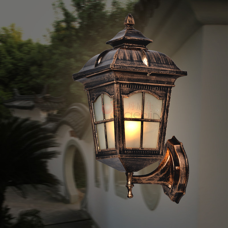 Free shipping outdoor wall lamp fashion classic wall lamps free shipping outdoor wall lamp fashion classic wall lamps waterproof balcony wall modern outdoor lights in wall lamps from lights lighting on aloadofball Image collections