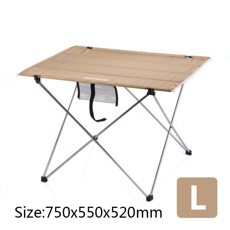 Image 4 - Table Outdoor Furniture Size S L Desk Modern Furniture Al Alloy Oxford Fabric Minimalist Tables Khaki Black Rectangle Table-in Outdoor Tables from Furniture