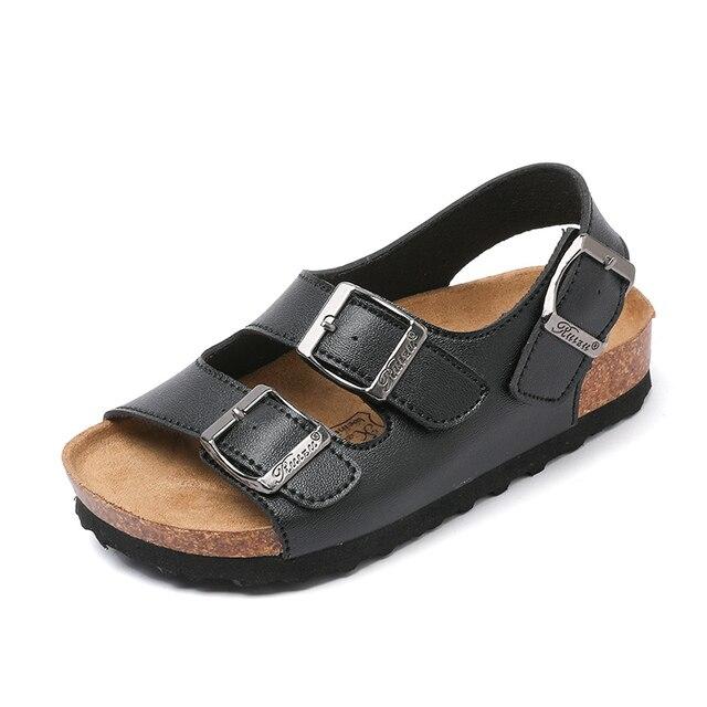13811025873d2 Niños corcho sandalias zapatillas de verano niños y niñas Sandalias Zapatos  niño Sandalias para niños tamaño