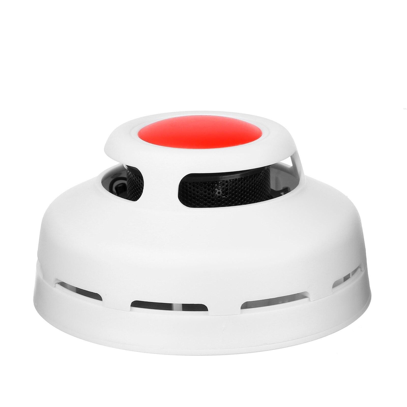 Nuevo detector de humo alarma de humo Sensor fotoeléctrico detecta incendios llamativos para el sistema de alarma de seguridad del hogar