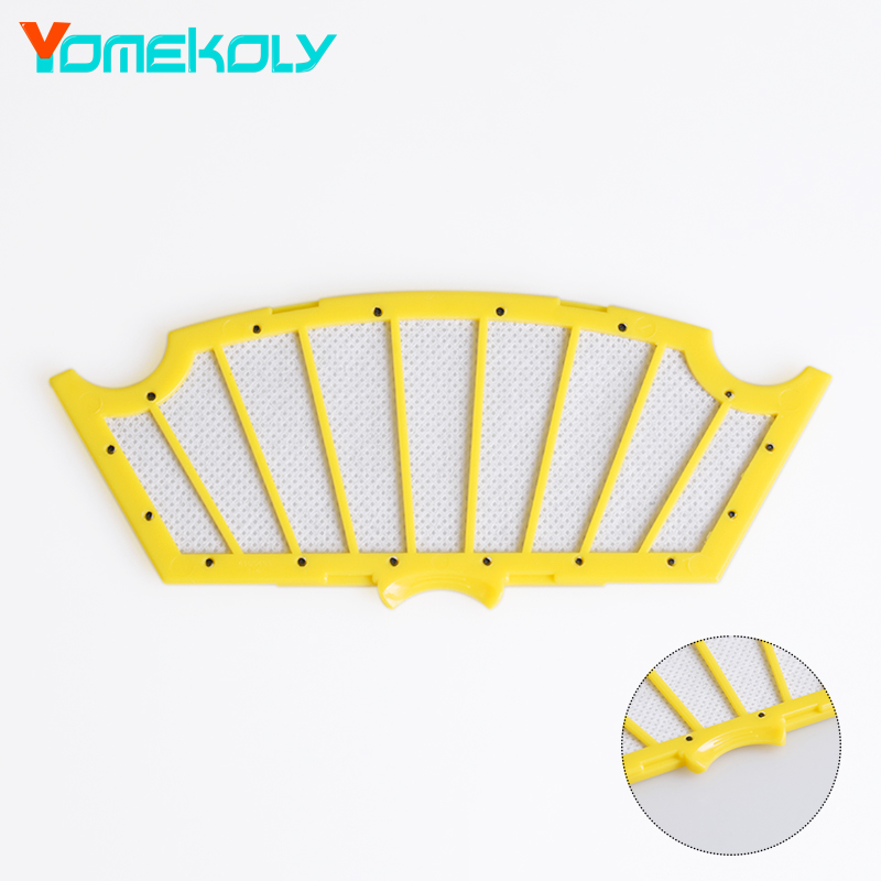 1PC Hepa Filter for Vacuum Cleaner iRobot Roomba 500 Series 510 530 535 540 550 560 570 580 Cleaer Accessory replacement parts 3 bristle brush for irobot roomba 500 series 510 530 535 540 550 560 570 580 vacuum cleaning robotic accessory kit