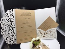 Popular Card Pockets Wedding Invitation Buy Cheap