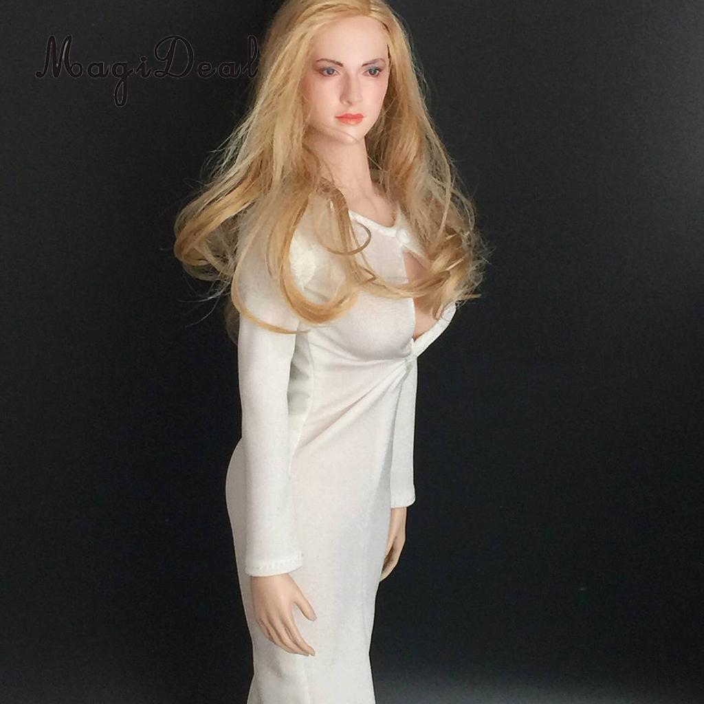 """1//6 Scale Cheongsam Dress Set For 12/"""" Hot Toys PHICEN KUMIK Female Figure"""