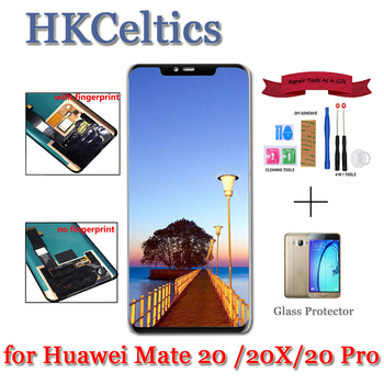 For Huawei mate 20 pro LCD Display +Touch Screen Digitizer Assembly Replacement For HUAWEI mate 20 X Huawei mate 20 HMA-AL00 LCD фото