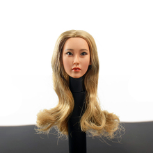 купить 1/6 Scale Head Shape KUMIK 13-16 Women's Female Head Sculpture Model 12