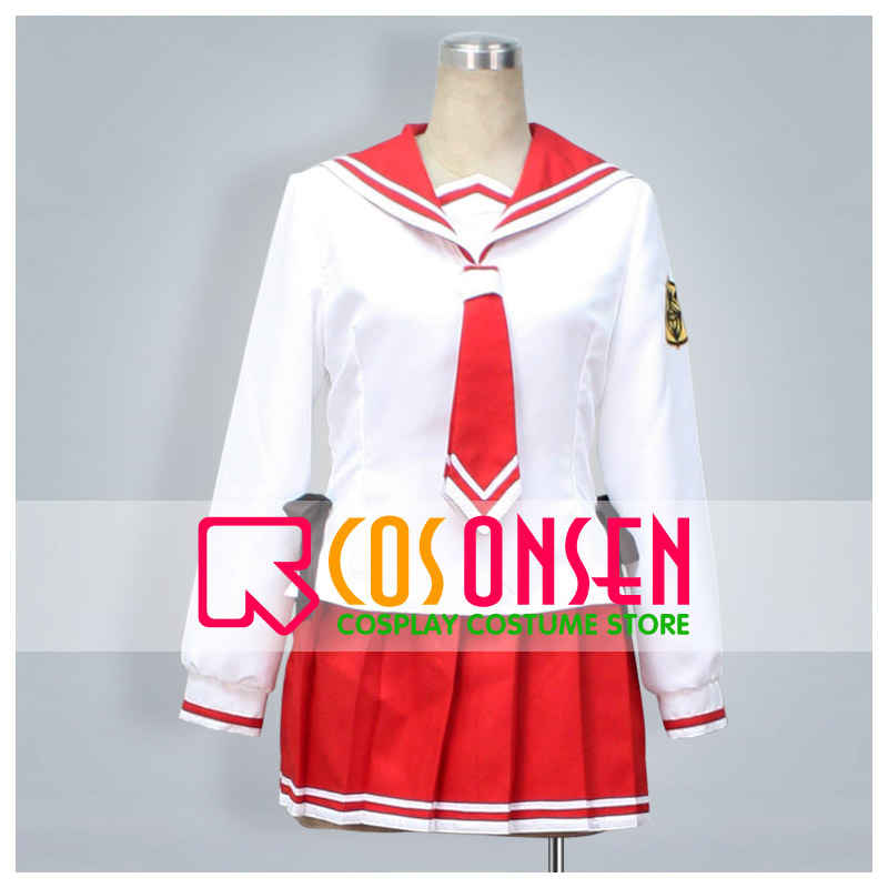 COSPLAYONSEN Aria the Scarlet Ammo  Kanzaki Homuzu Aria Cosplay Costume Uniform All Sizes Custom Made