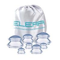 7 tasses Premium silicone Transparent ventouses ensemble dispositif cellulite masseur thérapie traditionnelle chinoise soins de santé médical vide