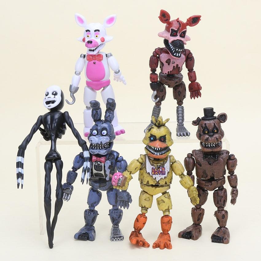 5 Nights At Freddy Toys : Aliexpress buy pcs set fnaf five nights at freddy s