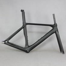 베스트 셀러 고정 기어 저렴한 중국 탄소 섬유 자전거 프레임 FM269