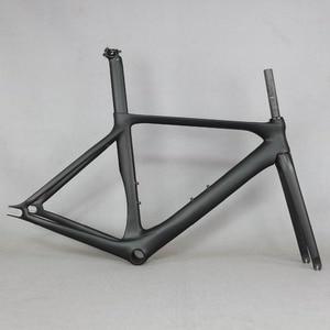 Image 1 - ベストセラー固定ギア安価な中国カーボンファイバー自転車フレームFM269