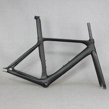 Meilleure vente engrenage fixe pas cher cadre de vélo en fibre de carbone chinois FM269