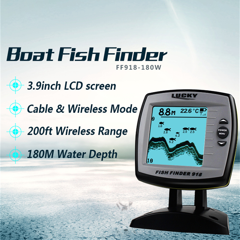 LUCKY Echo sounder fish finder 2-en-1 Sonda de eco cableada e - Pescando - foto 3