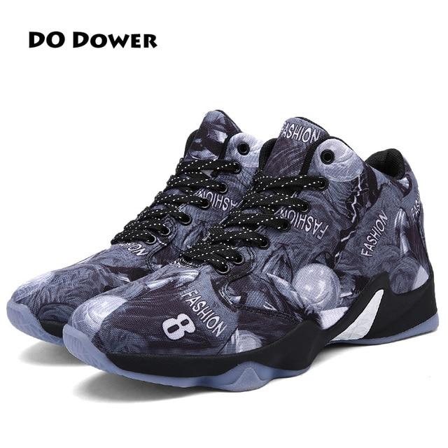 Do Dower 2017 hot sale Wear-resisting Basketball Shoes Men Medium cut Sport  Shoes Brand