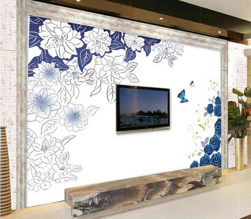 Marvelous Hand Painted Wall Mural Good Ideas Great Ideas