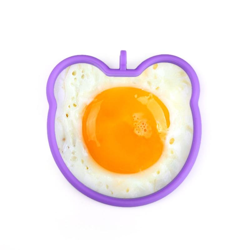 Egg & Pancake Rings 1pcs Silicone Egg Mold Flower Heart Car Owl Fried Egg Pancake Rings Non-stick Egg Cooking Cozinha Tool Kitchen Gadget Home & Garden