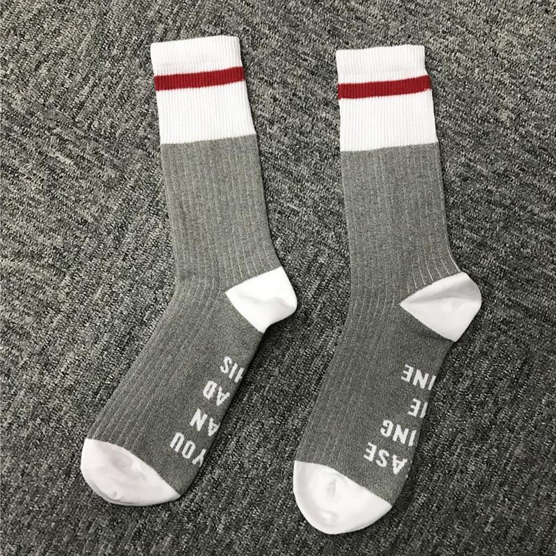 2018 Fashion Wine Socks Harajuku Medias If You Can Read This Women Men Ankle Socks Ladies Cotton Wool Socks Chaussette Femme