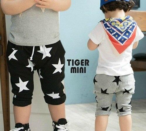 Aliexpress.com : Buy 2015 brand star printing Little Boy Pants ...
