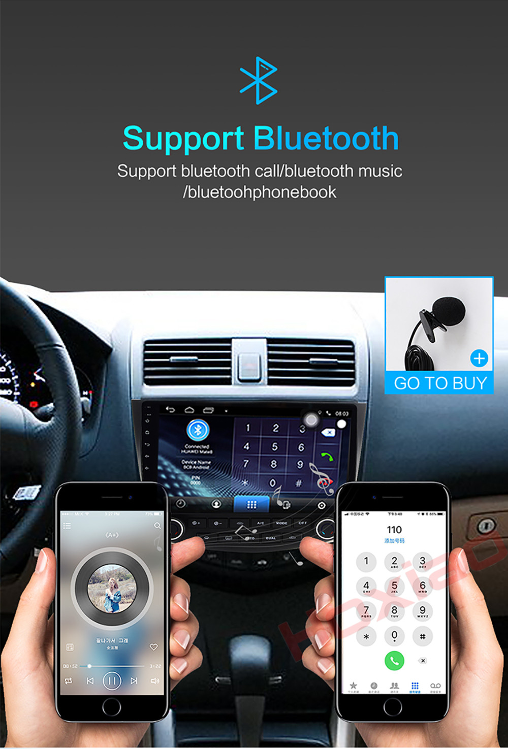 Hoxiao Android 6 For Honda Accord 7 2003 2007 Gps Hd Multimedia Car Interior Lights Delay Each Country Has A Remote Area Ups Can Not Be Reached In Areas This Case Only Transfer Other Transportation Channels