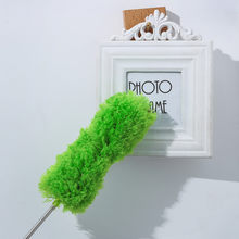 Microfibre head EXTENDABLE TELESCOPIC MAGIC MICROFIBRE CLEANING FEATHER DUSTER EXTENDING BRUSH Soft noddle extendable duster#Y50(China)