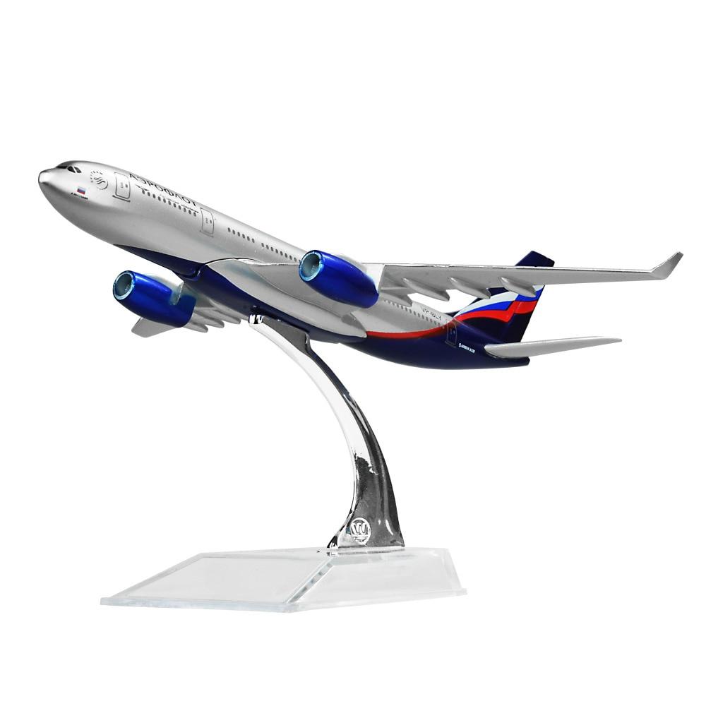 Le Russian International Airlines Aeroflot-Russian Airlines Airbus A330 avion modèles enfant D'anniversaire cadeau avion modèles