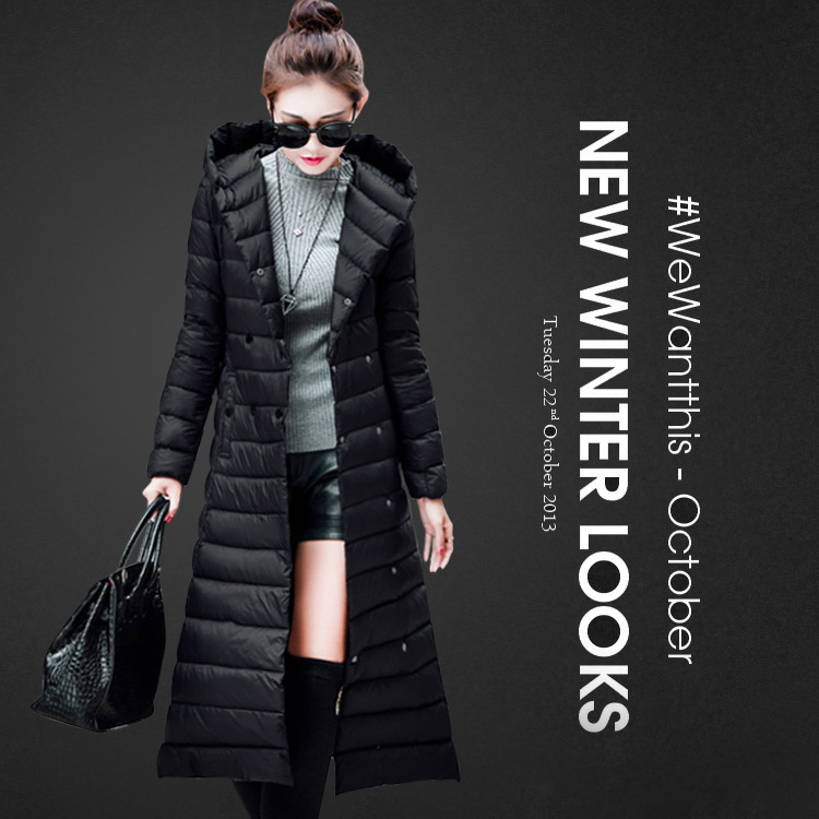 Aliexpress.com : Buy 2015 super long down jacket for women winter ...