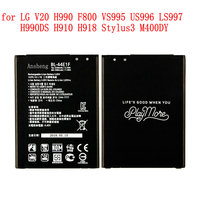 100% NEUE Original 3200 mah BL 44E1F batterie für LG V20 H990 F800 VS995 US996 LS997 H990DS H910 H918 Stylus3 M400DY handy-in Handy-Akkus aus Handys & Telekommunikation bei