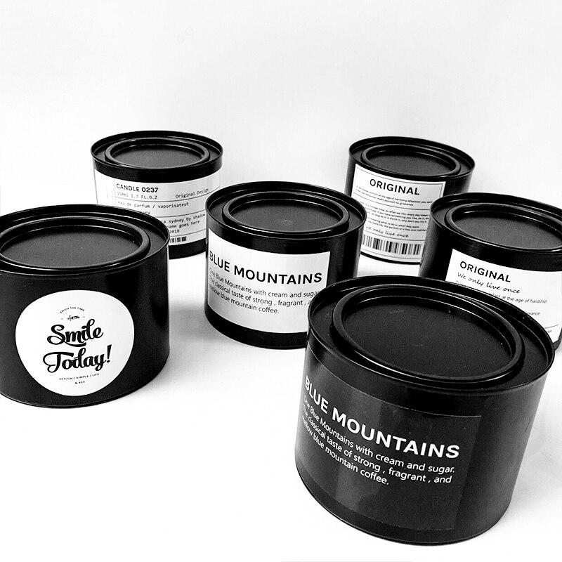 Минималистский шик для хранения металла Jar Танк скандинавский Nordic Vogue Роскошные разное Организатор Цветочная ваза стол хранения олово для д...