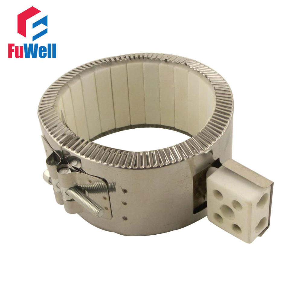 Customzied Welcomed!!!  Stainless Steel 120*60mm 1100W Mica Heating Electric Band Heater Element customized welcomed ceramic band heater 150 50mm d h 220v 1100w heating element
