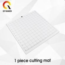 Schneiden Matte für Silhouette Cameo 3/2/1 [Standard-grip,12x12 Zoll, 1pack] Kleber & Klebrige Non-slip Flexible Gridded Schnitt Matten