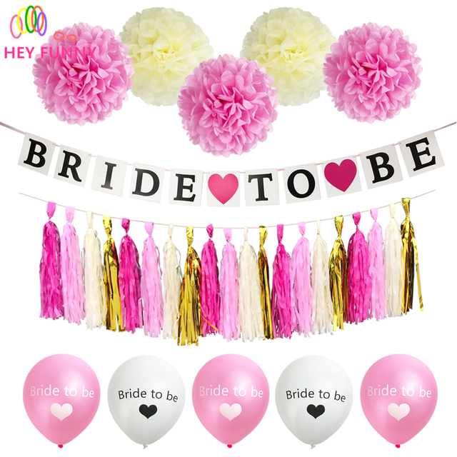 Hey funny 1set bride to be banner paper tassels team bride balloon hey funny 1set bride to be banner paper tassels team bride balloon wedding decor bridal shower junglespirit Images