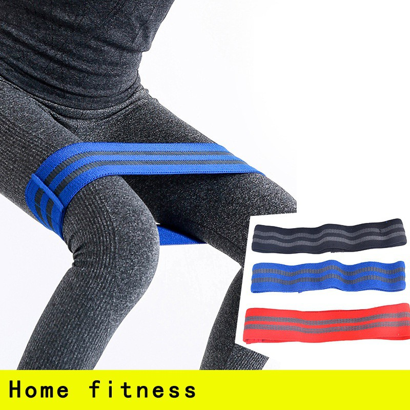 2019 Latest Design Women Yoga Guidance Hip Band Resistance Bands Elastic Fitness Equipment Warmups Squats Mobility Workout Leg Pull Band Resistance Bands