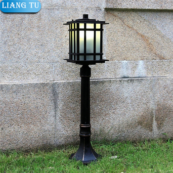 Classical Outdoor Garden Decorative Cast Aluminum E27 Outdoor lawn light