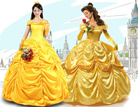Halloween Costumes For Women Fairy Adult Princess Belle Costume Girl Dress Beauty And The Beast Adult