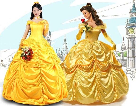 Хэллоуин костюмы для женщин фея взрослая принцесса косплей костюм девушка вечернее платье красоты и зверя взрослые костюмы