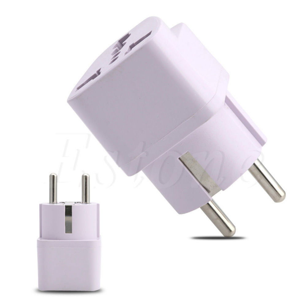 Universal AU UK US to EU Socket Plug AC Power Travel Charger Adapter Converter