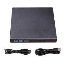USB CD/DVD-RW Писатель горелки внешний жесткий диск для портативных ПК Mac Macbook Pro CD RW DVD ROM интеллектуальное сжигание