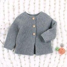 Весна-Осень, свитер для маленьких девочек, кардиганы с длинными рукавами, вязаные куртки для новорожденных, вязаные пальто для маленьких мальчиков, BC529