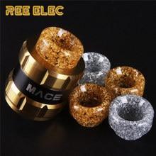 REE ELEC Resin 810 Atomizer Drip Tips For Electronic Cigarette Rda Rba Tank Wide Bore Drip
