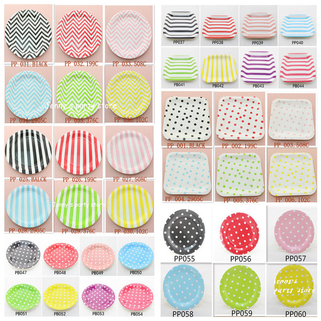 Free Shipping 840pcs/lot Mixed Pattern 52Designs Disposable Party Paper Plates Wholesale for Wedding Decoration  sc 1 st  AliExpress.com & Free Shipping 840pcs/lot Mixed Pattern 52Designs Disposable Party ...