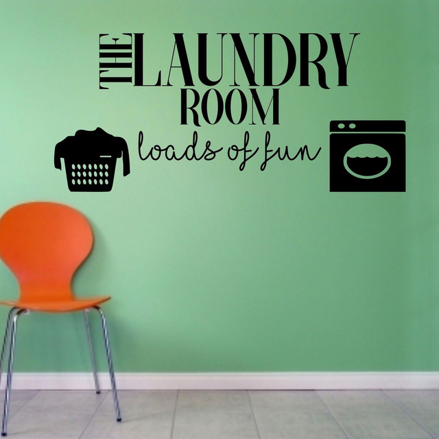 aliexpress : buy laundry room loads of fun utility home wall art